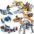 2017 2IN1 Star Wars 7 The Force Awakens Brick General Grievous Wheel Bike X-Wing Warship Spaceship Model Building Blocks Kid Toy