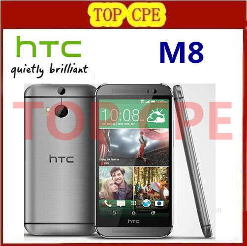 M8 Original Unlocked HTC ONE M8 Quad Core Mobile phone 4G LTE Android 4 4 2GB