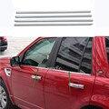 304 оконная отделка из нержавеющей стали с блестками для Land Rover Freelander 2 2008-2015 Аксессуары Набор для стайлинга автомобилей из 4 предметов