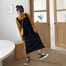2019 Women's Dresses Japanese Ulzzang Kawaii Lady College Style Casual Loose