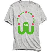 Pure Cotton T-shirt Men Short Sleeve Juggling Octopus TShirt Fitness Tees Tops Shirt New Arrival Funny Round Collar T Shirts цена и фото