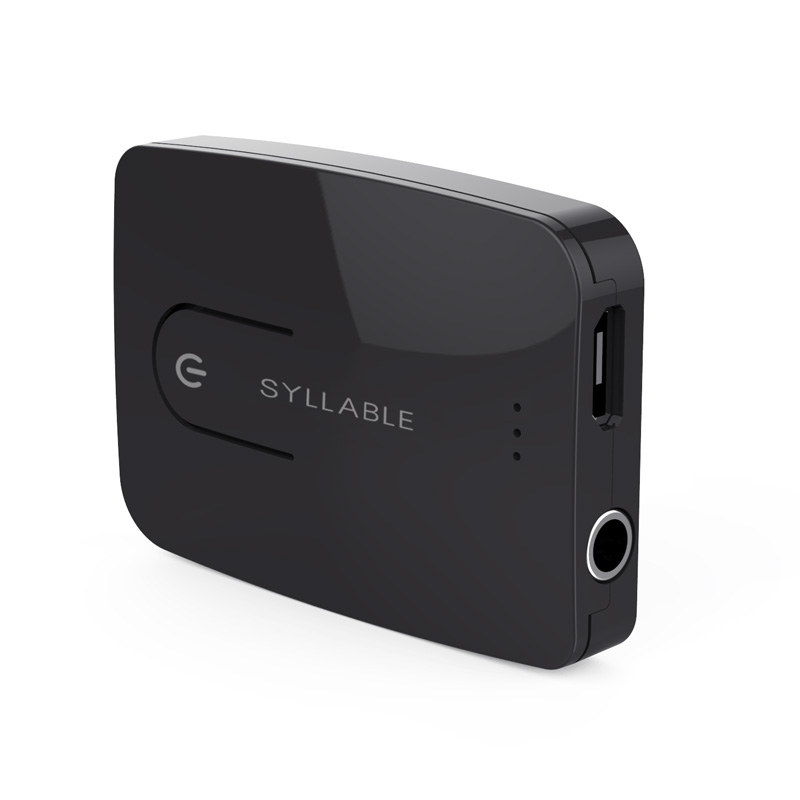 Syllable E3 Transmitter 3 5mm Audio Music Bluetooth 4 0 Wireless Transmitter Computer font b TV