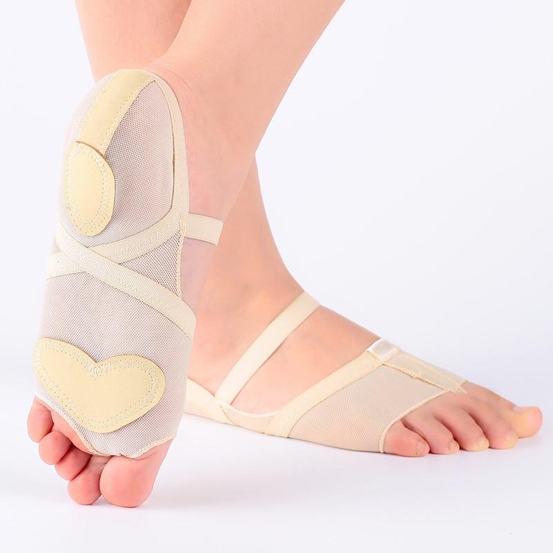 Кәсіби ханымдар Лирикалық би аяқтары Йога Практика Аяқ Аяқ Аяқтар Footundeez Modern Dance For Socks Sandal Gym Ballet Shoes
