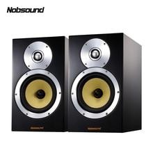 Nobsound DM5 двухполосная деревянная 120 Вт 1 пара 6,5 дюймов книжная полка динамик s 2,0 HiFi Колонка звук домашний Профессиональный динамик