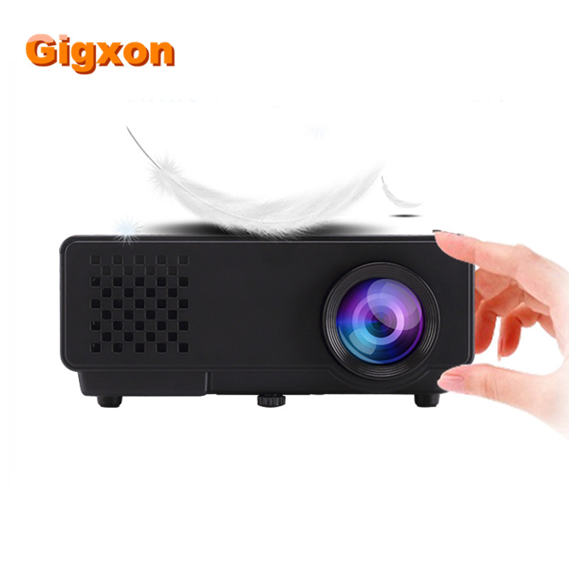 Gigxon-G810A  de Lastest de la Venta Caliente Mini LED Android Proyector para el