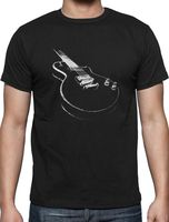 Youth Collar Customized Shirts Gildan Men S Crew Neck Short Sleeve Compression Cool Musician Electric Guitar