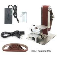 electric belt sander Machine Mini Electric Belt Sander Diy Polishing Grinding Machine Cutter Edges Sharpener Belt Grinder Sander