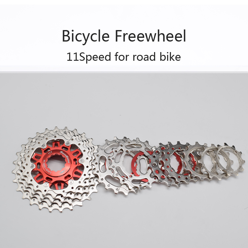 Sunrace Road Bicycle Freewheel 11 Speed Bike Cassette CSRX1 Bicycle Parts 11-28T 11-32T 11-36T for shimano 5800 6800 SRAM rockbros titanium ti pedal spindle axle quick release for brompton folding bike bicycle bike parts