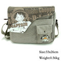 2017 Anime One Piece Luffy Zero Messenger Bag School Bag For Students Kids Children Teenager Canvas Bags