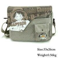 2016 Anime One Piece Luffy Zero Messenger Bag School Bag For Students Kids Children Teenager Coss
