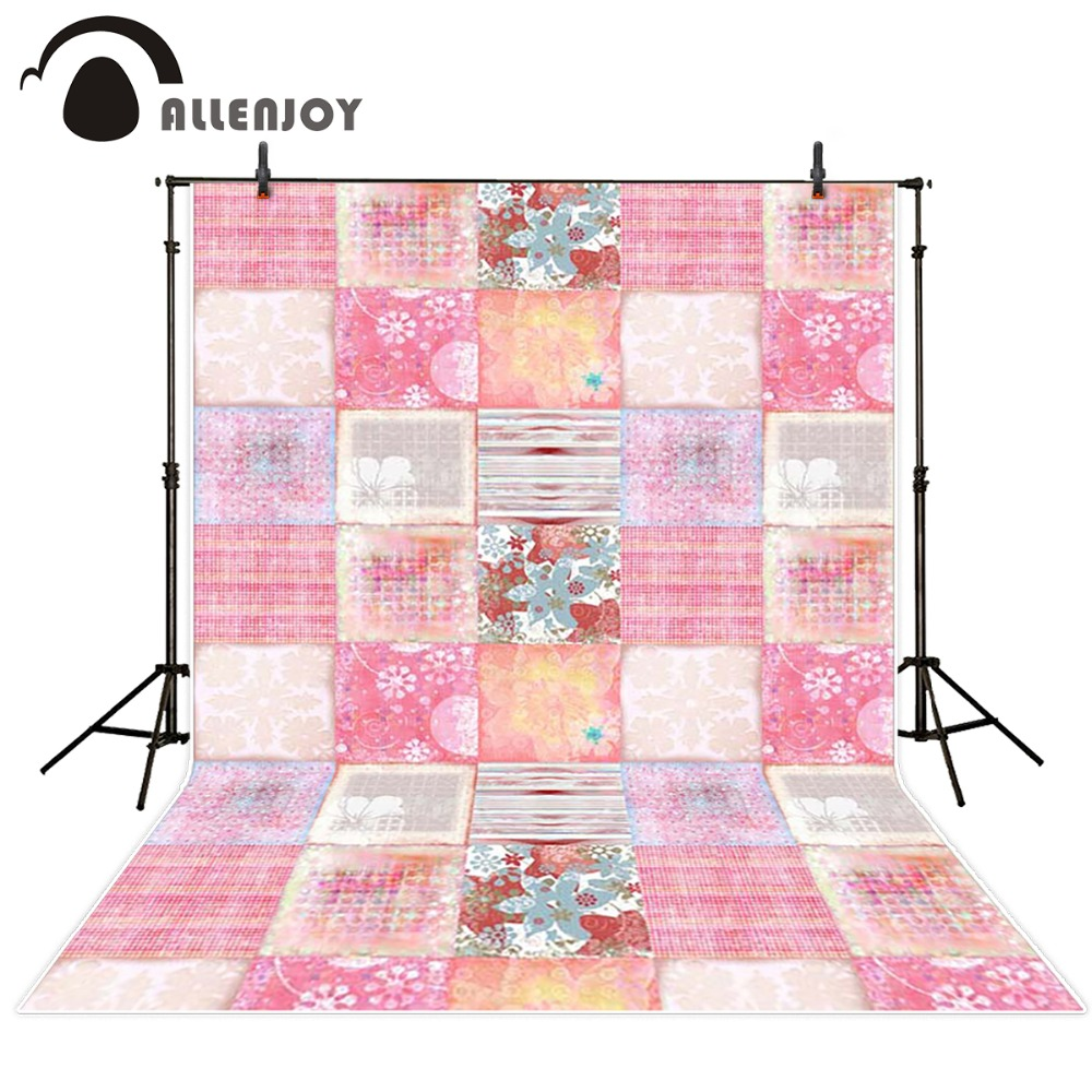 Allenjoy Photography background Multi-pattern pink Bokeh boy girl spring summer backdrops