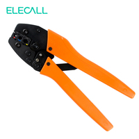 Pre Insulated Terminal Crimping Pliers Ratchet Terminal Crimping Tool Plier For Crimp Insulated Terminal And Connector