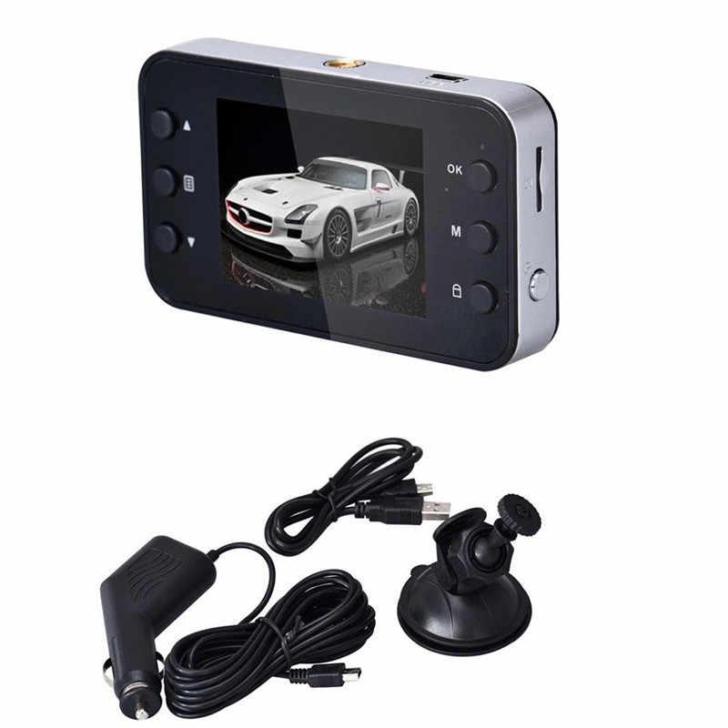 """100 градусов 1080 P HD 2,4 """"ЖК-дисплей Видеорегистраторы для автомобилей тире Камера видео Регистраторы Ночное видение g-сенсор встроенный звук 32 г хранения Ёмкость USB"""