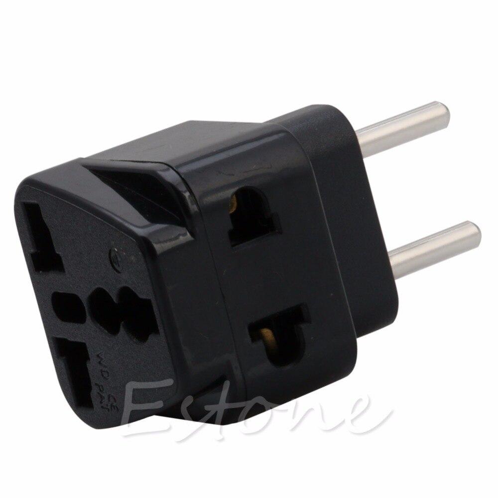 New 2017 arrival Universal UK/US/EU/AU to EU EUROPE Plug Travel Power Adapter Splitter converter