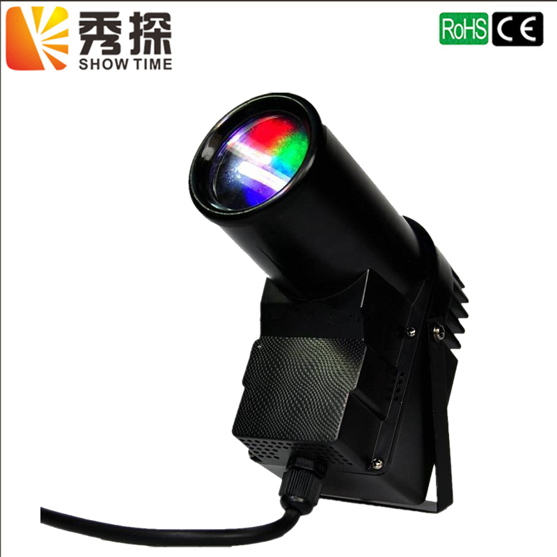 Fast Shipping LED 10W RGBW 4 IN 1 Pinspot Light LED small Spot light Auto change color LED Stage Lighting