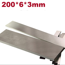 Machine Tools Accessories HSS Tool bit  High speed steel 200*6*3mm  Heat treatment Internakl Turning Tool Knife DIY material