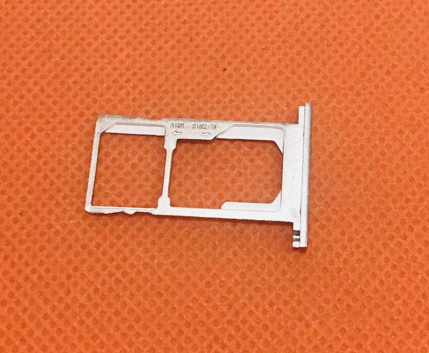 Utilisé Original Sim Card Holder Plateau Fente Pour Carte pour Oukitel K10000 Pro MTK6750T 5.5 FHD Livraison gratuite