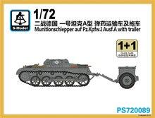 S – modèle 1/72 PS720089 Munitionschlepper Auf pz. Kpfw. I ausf. Un w / remorque ( 1 + 1 )