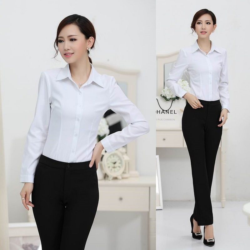 Buy new 2017 spring autumn ladies office for Office design uniform