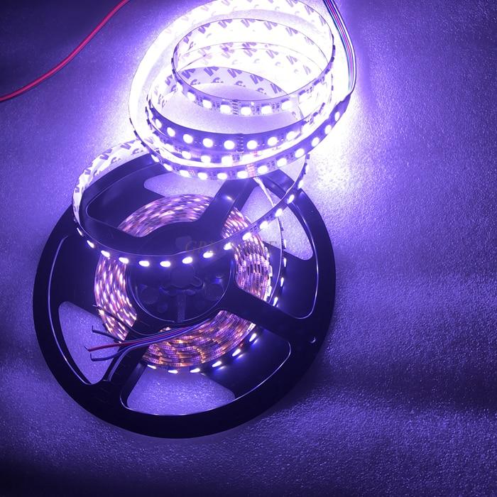 Yeni 84leds / M Suya davamlı 5050 4IN1 RGBW LED lent SMD RGBWW led - LED işıqlandırma - Fotoqrafiya 6