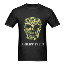 "Philip Plein ""Army Skull"" T-Shirt S/M/L/XL/2XL custom printed tshirt, hip hop funny tee, mens tee shirts NEW ARRIVAL tees(China)"
