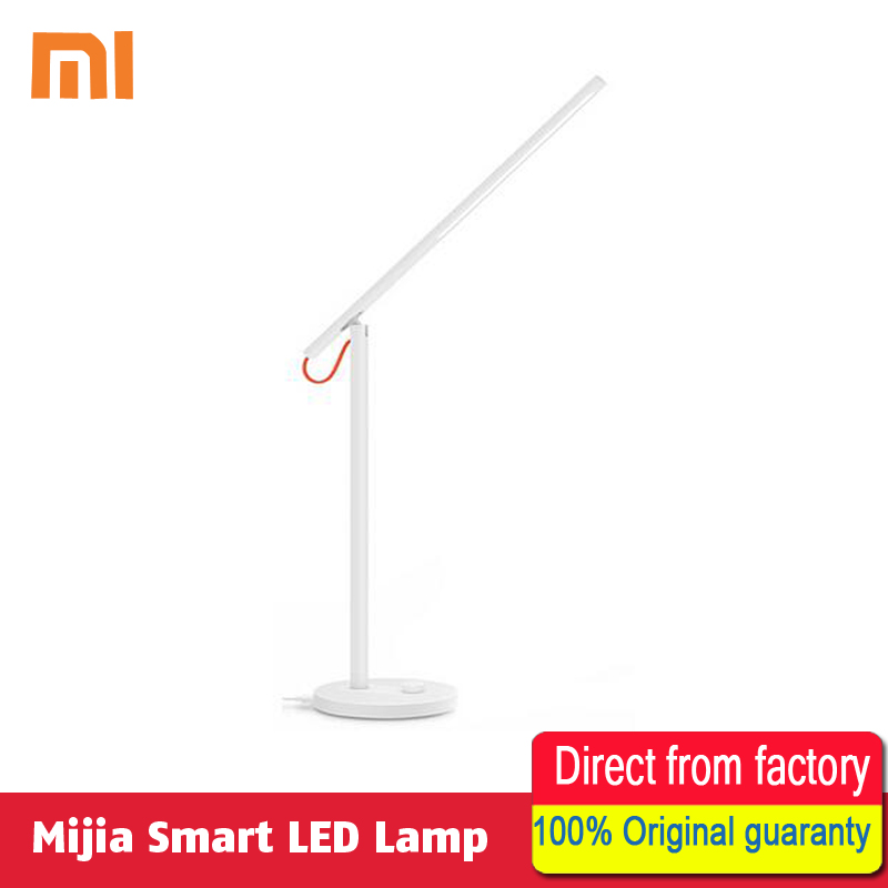 Original Xiaomi Mijia LED Desk Lamp Smart Table Lamps Desklight 4 Lighting Modes Support Smart Phone
