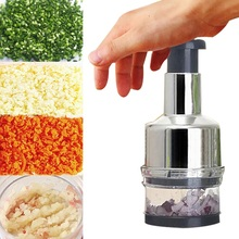 Onion Garlic Slicer Multifunction Potatoes Tomato Fruit Salad Vegetable Onion Hand Press Cutting Chopper Cutter Cooking Tools