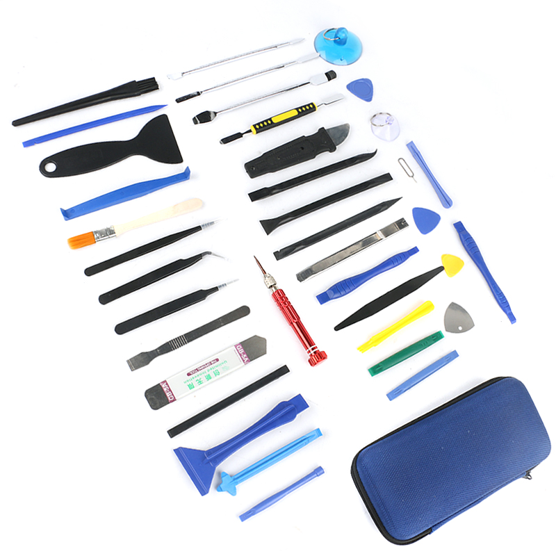 39 in 1 Smart Notebook Tablet Pry Repair Disassembly Screwdrivers Tool Set For iPhone Mobile Phone Samsung iPad HTC 91pcs professional glass biological microscope prepared slides lab specimens