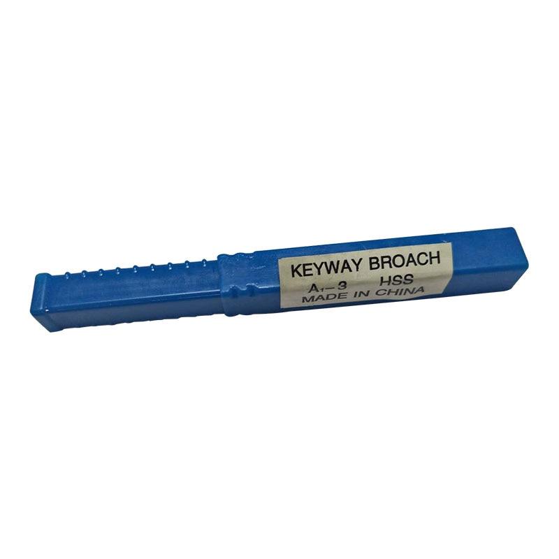 3mm UM Push-Tipo Keyway Broach Métrica Tamanho