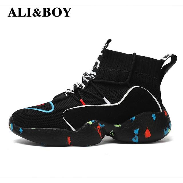 High Top Running Shoes For Men Women Ankle Boots Thermal Winter Shoes Women Men Fur Lining Sport Shoes Athletic Male Sneakers 2