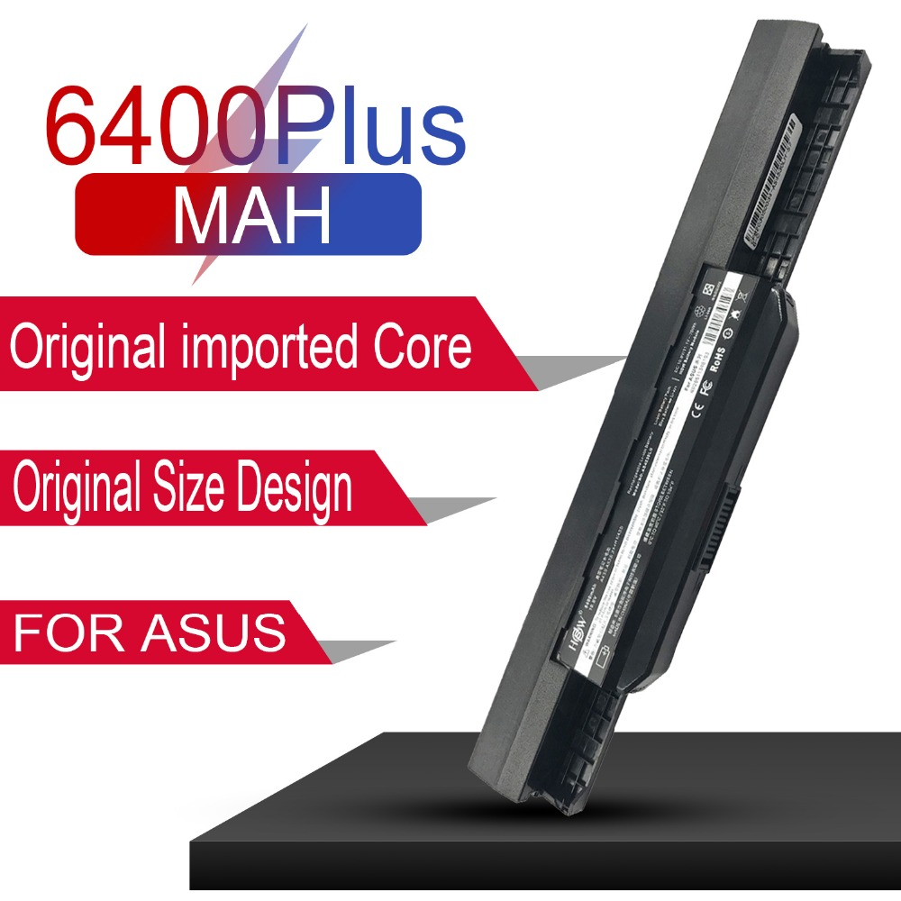 6 Cell Replacement Laptop Battery For Asus A43S X44H X84H K53U A43B K43BY X43S K43U K53T A53S A53SV K53SK X43TA A32 k53