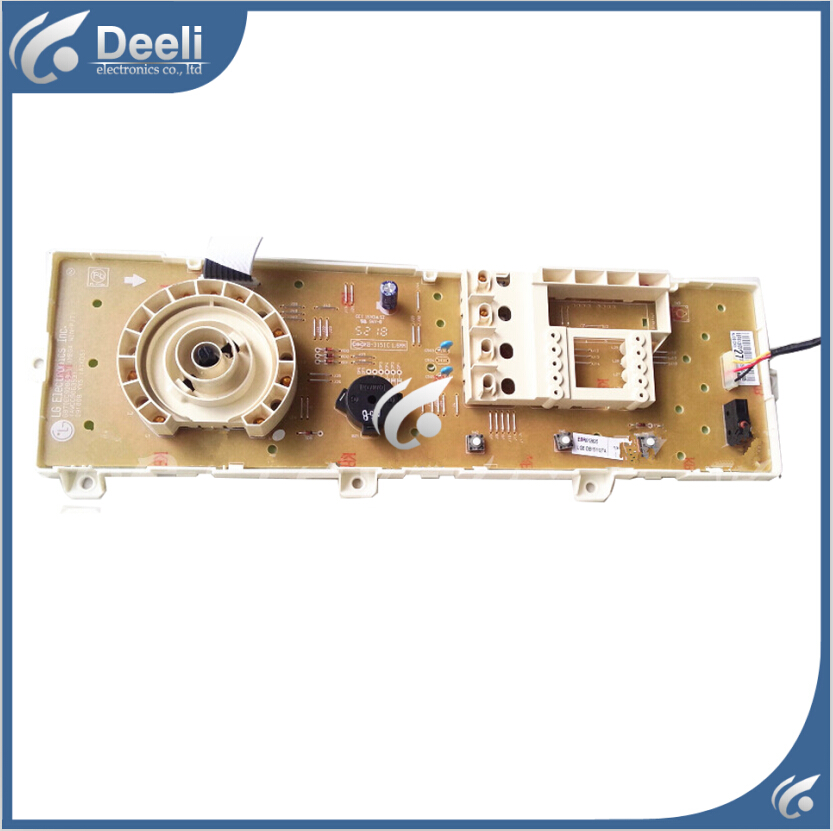 100% new for washing machine board display board WD-N10310D 6870EC9284D 6870EC9286B-1 Computer board Only one side 100% new for lg washing machine board display board frequency converter board wd n10300d computer board set