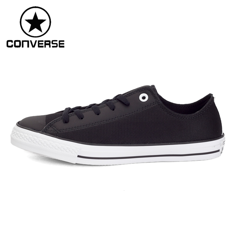 Original New Arrival 2017 Converse Chuck Taylor Unisex Skateboarding Shoes Canvas Sneakers new converse chuck taylor all star ii high men women s sneakers canvas shoes classic pure color skateboarding shoes 150143c