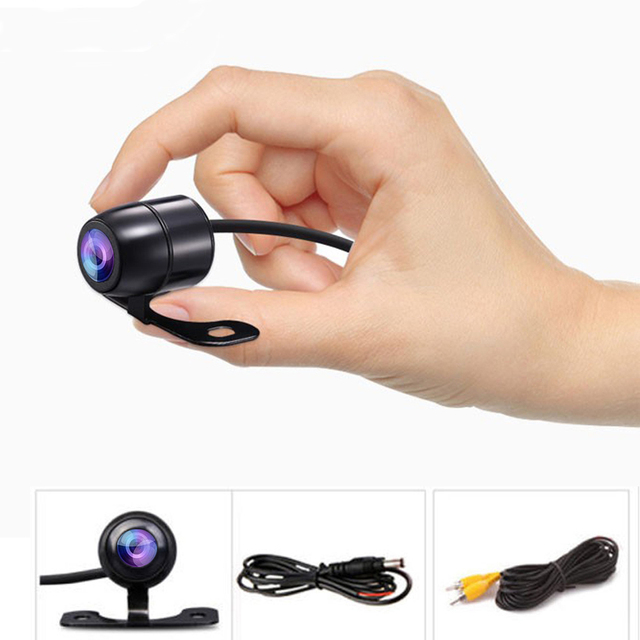 Podofo Auto CCD HD Car Front View Camera Backup Rear View Camera Rear Monitor Parking Assistance Waterproof Camera Reverse