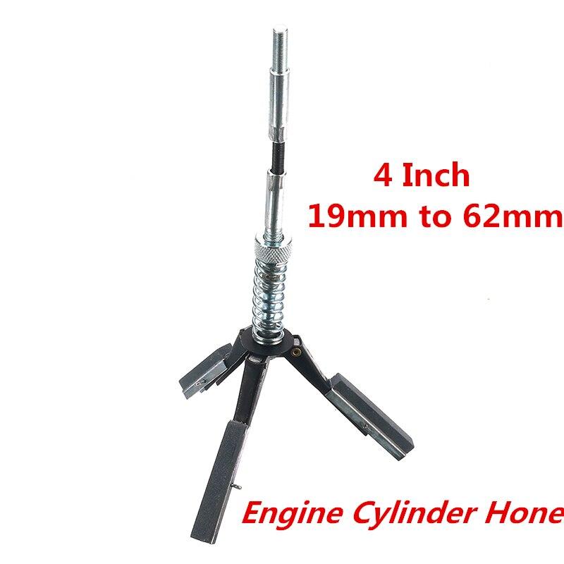 19mm to 62mm Engine Cylinder Bore Hone Steel 3 Jaw Adjustable Car Engine Cylinder Brake Honing