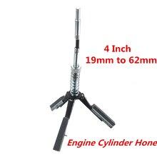 19mm a 62mm Motore Cilindro Alesaggio Affinare In Acciaio 3 Jaw Auto Motore del Freno del Cilindro Levigatura Pietra Flessibile albero di Levigatura Strumento