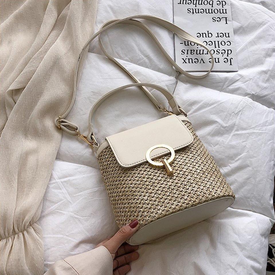 Straw Bucket Bag (5)