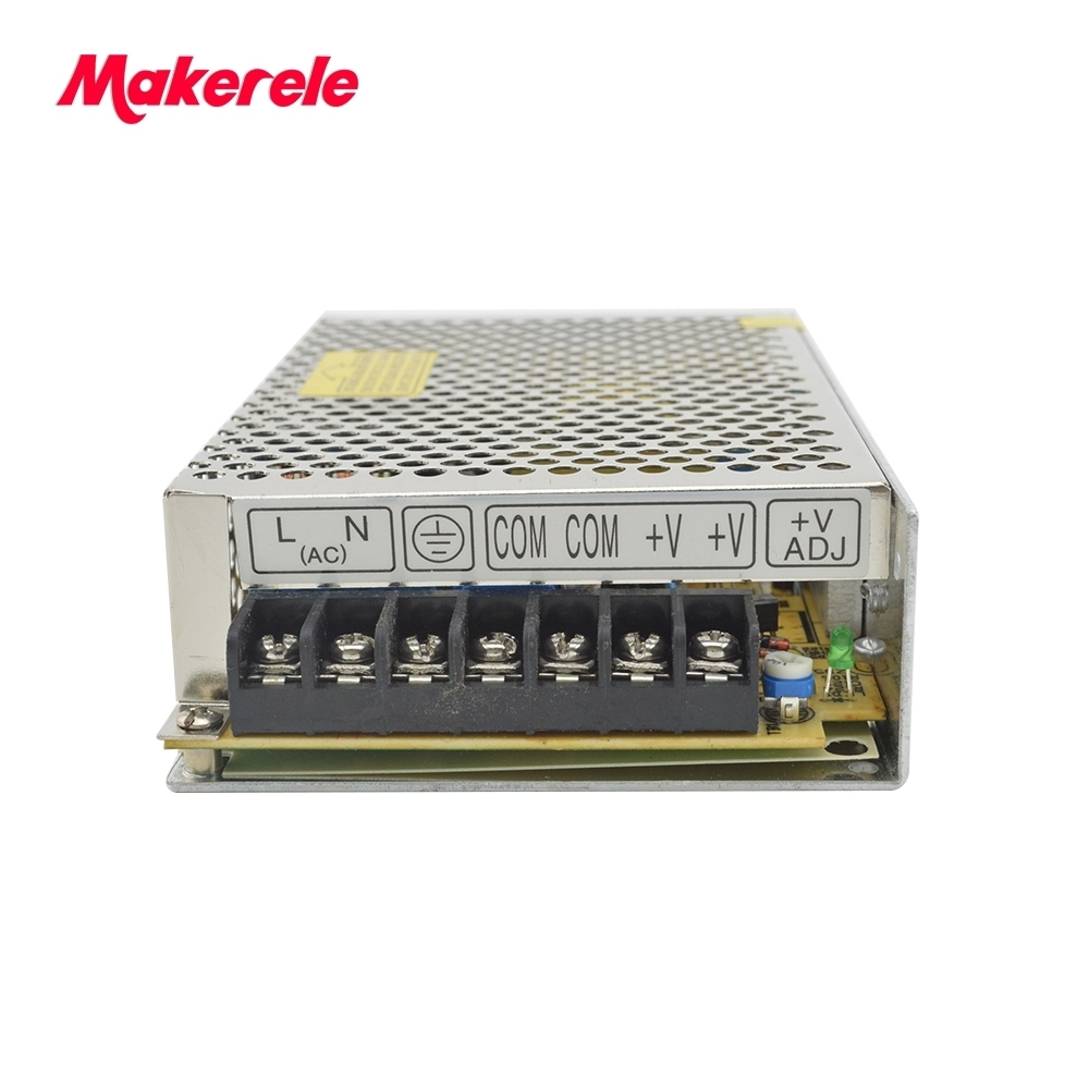 Switching power supply single output 100W 7.5V 13.6A universal input voltage low price voltage CE 1PCS NES-100-7.5  AC to DC meanwell 12v 350w ul certificated nes series switching power supply 85 264v ac to 12v dc