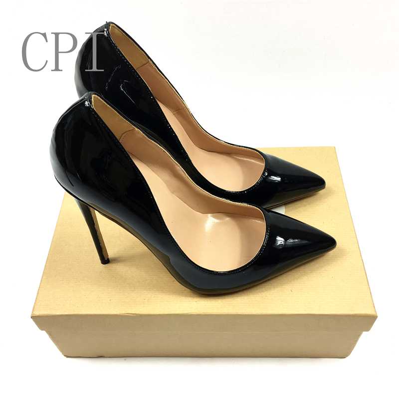 Brand Shoes Woman High Heels Pumps Nude High Heels Women Shoes High Heels Wedding Shoes Pumps Black Shoes Heels 8CM 10CM 12CM brand shoes woman high heels women pumps pointed toe wedding shoes 10cm metal heel women shoes high heels pumps shoes b 0113 page 9