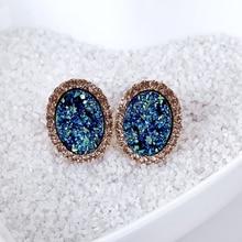 Fashion Earrings with Rhinestones