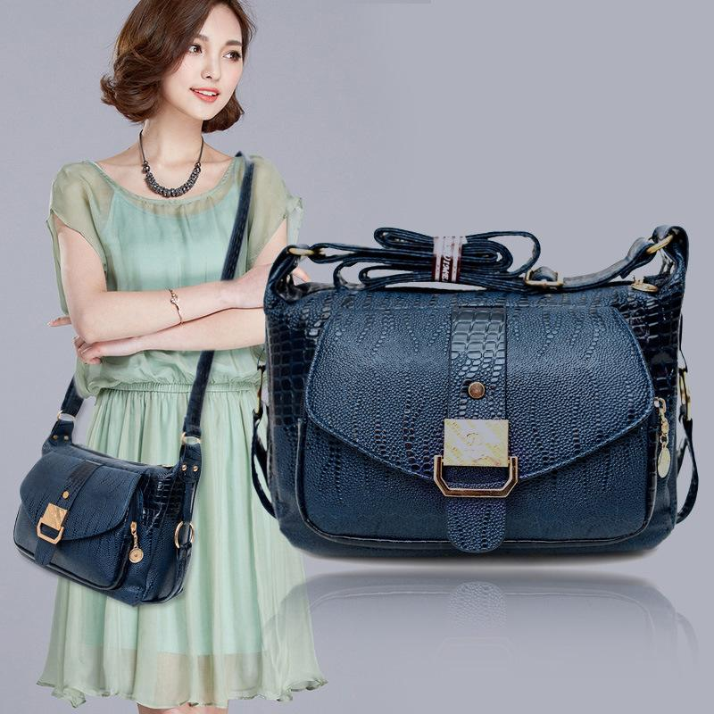 Women Messager Bags PU Leather Shoulder Bag For Mom Causal Hobos Crossbody Bag Women Handbags Bolsas