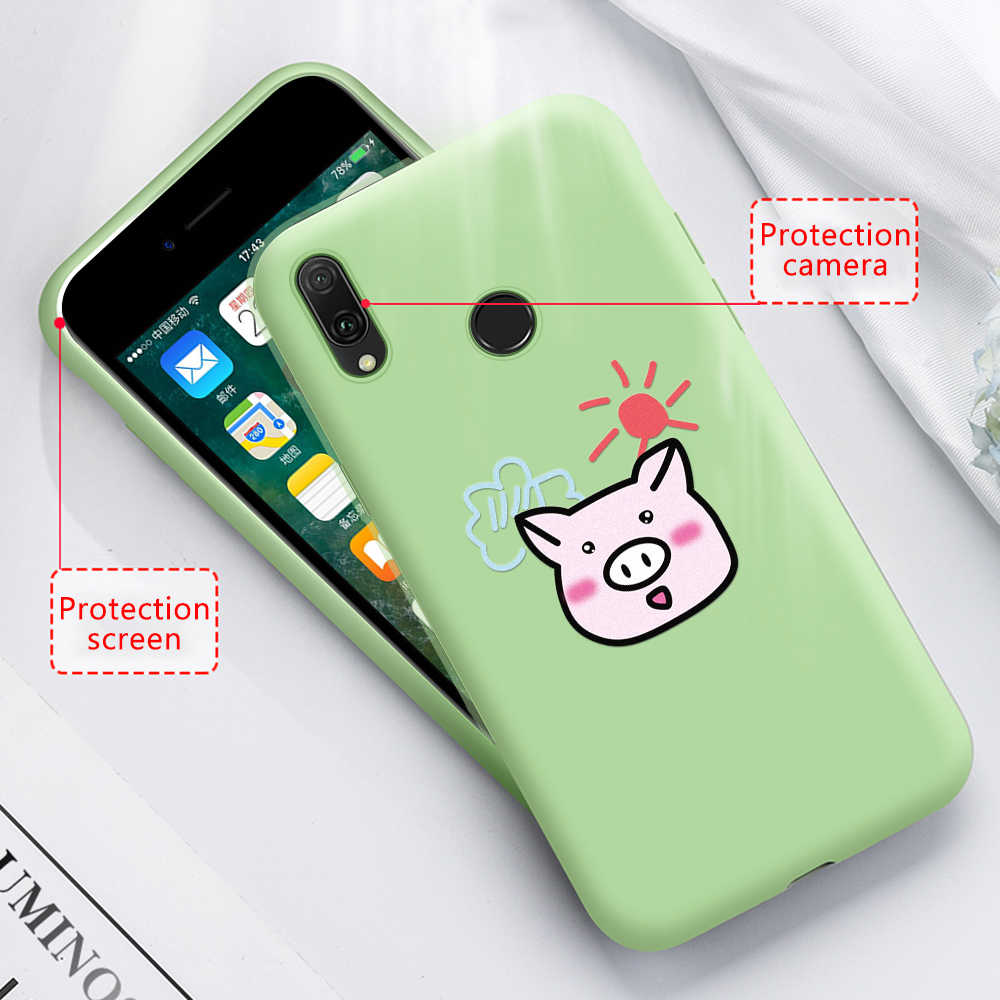 Printing Cover Case For Huawei P30 Pro P20 Lite Mate 20 Lite Pro Soft TPU Cover For Huawei P30 P Smart Plus 2019 30 Coque Funda