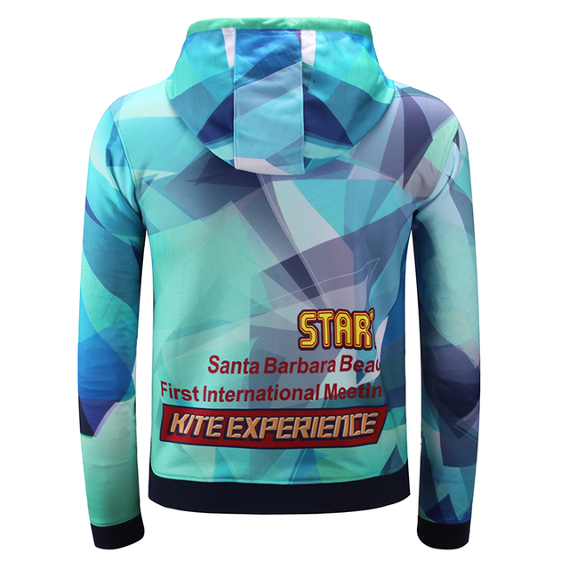 100% polyester custom  long sleeve soccer hoodie sweatshirts full sublimation print any color any pattern sport coats blazer