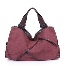 Quality Handbags Solid Hobos Women Tote Bag Fashion Designer Ladies Ruched Canvas Big Shoulder Bag