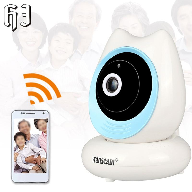 WANSCAM 2MP Wireless 1080P IP Camera Onvif Wifi IR-Cut Night Vision Recording Security Surveillance Network Indoor Baby Monitor