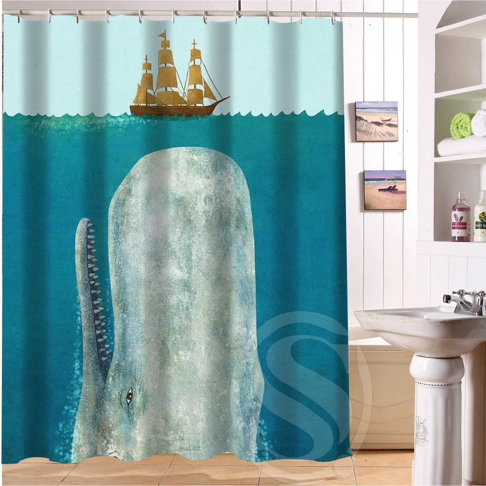 Best gift Giraffe Riding Shark Never Stop Dreaming Shower Curtain 60 ...