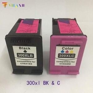 Vilaxh tương thích 300xl Mực thay thế hộp mực Cho HP 300 xl Deskjet D1660 D2560 D5560 F2420 F2480 F4210 F4280 F4580 máy in