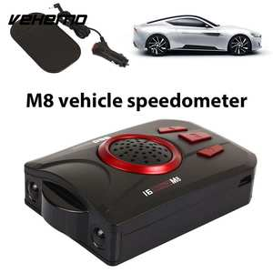 Speed-Control-Detector Car-Radar Scanning English Voice-Alert-Warning-Vehicle Touching-Key