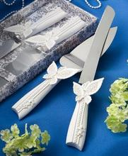 western-style wedding supplies  butterfly cake knife set cake shovel pizza knife serving set