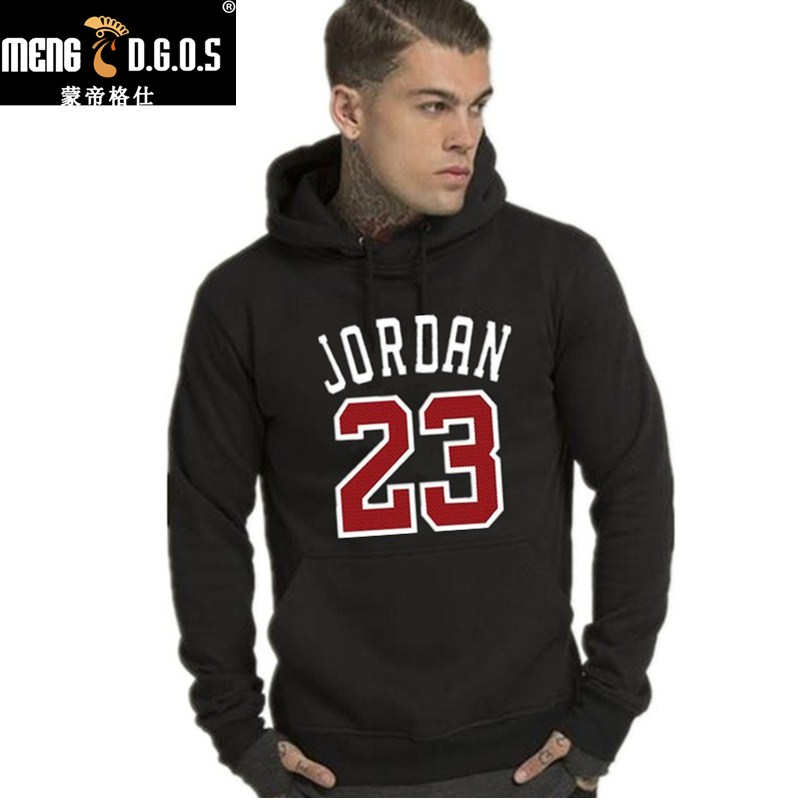 2017 Nuevo Jordan sudaderas con capucha de los hombres 23 para hombre  impreso sudaderas con capucha ropa deportiva negro Rosa Streetwear Hip Hop  jersey con ... cba2e90736e